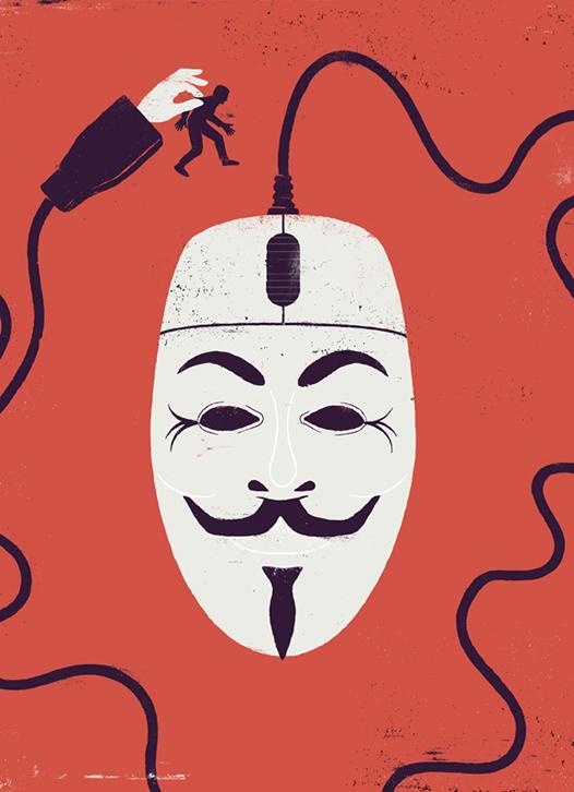 READER'S DIGEST - Cops & Hackers