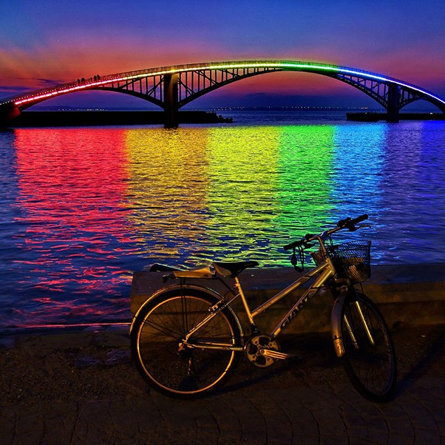Xiying Rainbow Bridge, Taiwan