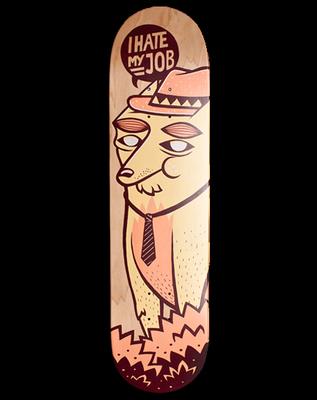 Fox Skateboard by Peach Beach