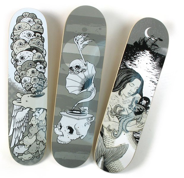 2007 Fall Collab Series Skateboard Decks