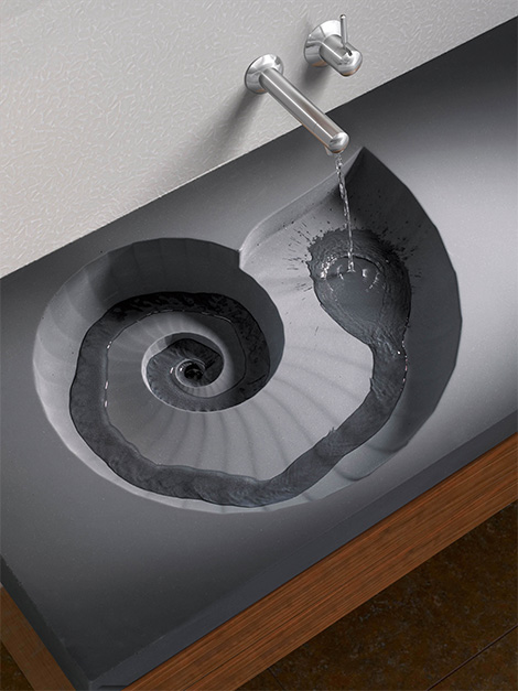 Ammonite Washbasin
