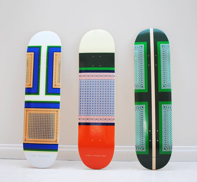 Céline Skateboard Decks