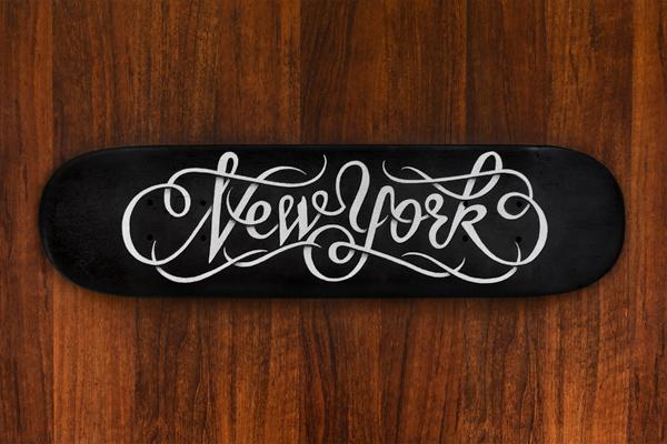 New York Skateboard Deck - Simon Alander