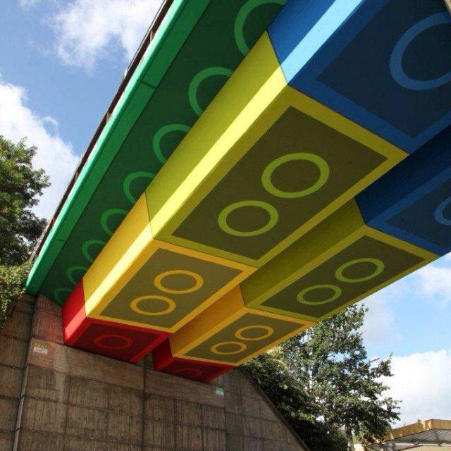 Lego Bridge by Megx