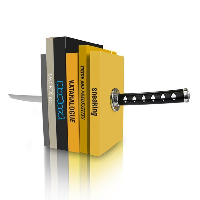 Katana Bookends by Mustard