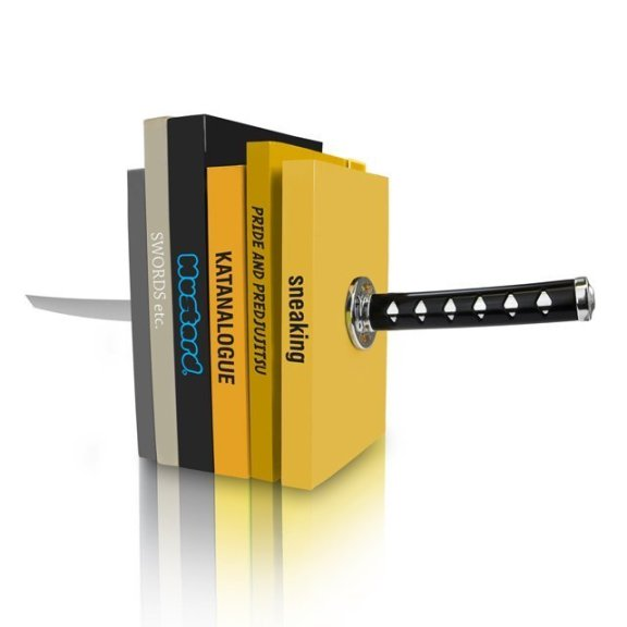 Katana Bookends by Mustard