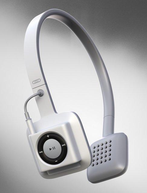 ODDIO1 iPod Shuffle Headphones