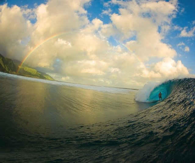 Billabong Pro Tahiti Surf Competition