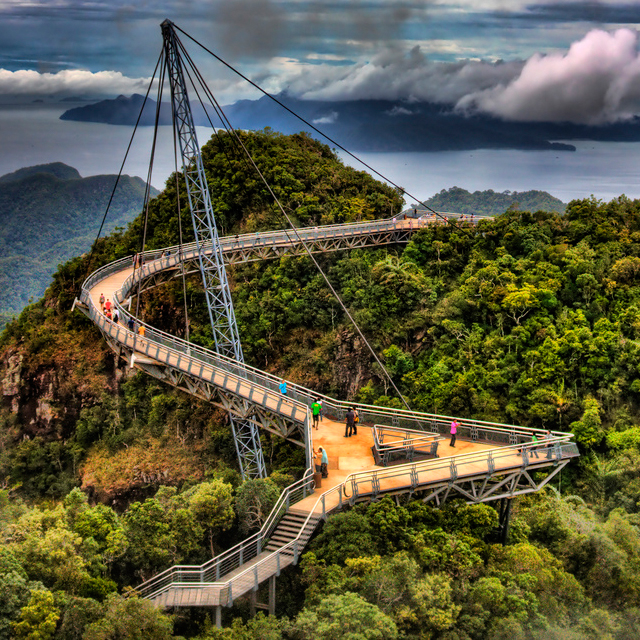 Sky Bridge @ Langkawi, Malaysia