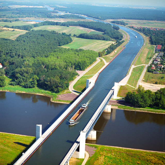Magdeburg Water Bridge @ Germany