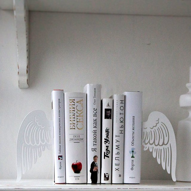 Angel Wings Bookends