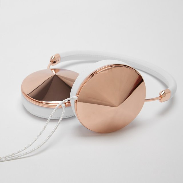 Taylor Rose Gold Headphones by Frends