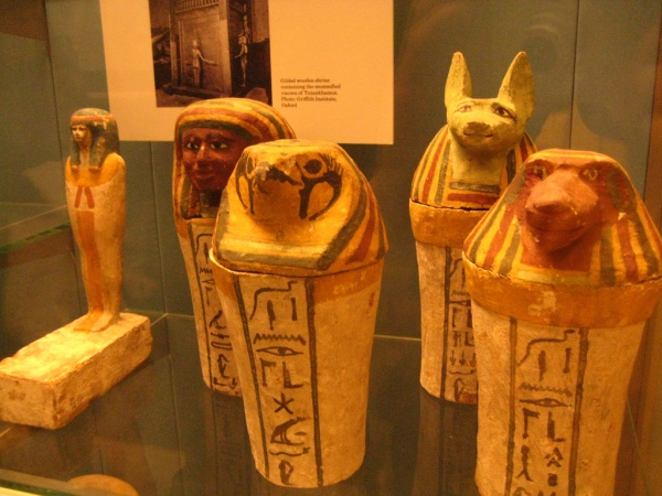 Egyptian Artifacts at the British Museum