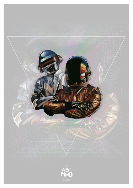 Daft Punk by LostMind