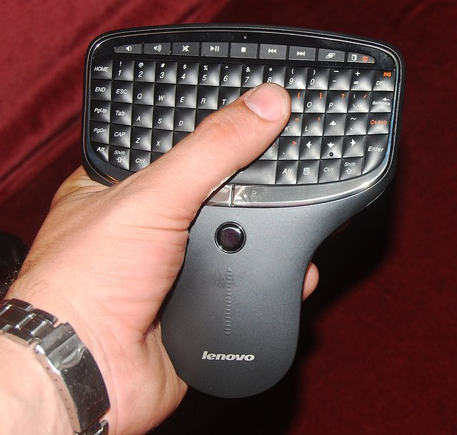 Multimedia Remote with Keyboard by Lenovo