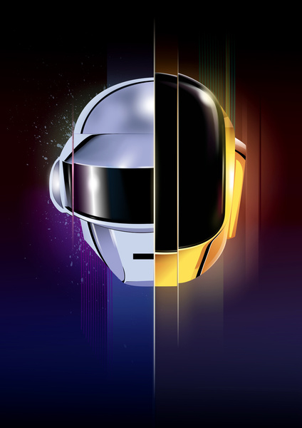 4584651 4626554 lz1 A Tribute: 40 Awesome Daft Punk Artworks