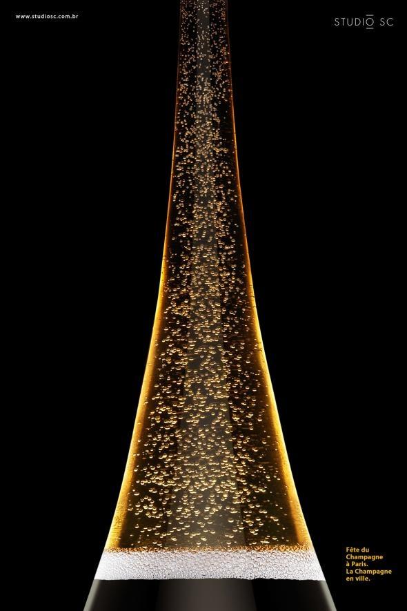 Paris Champagne Festival: Eiffel Tower