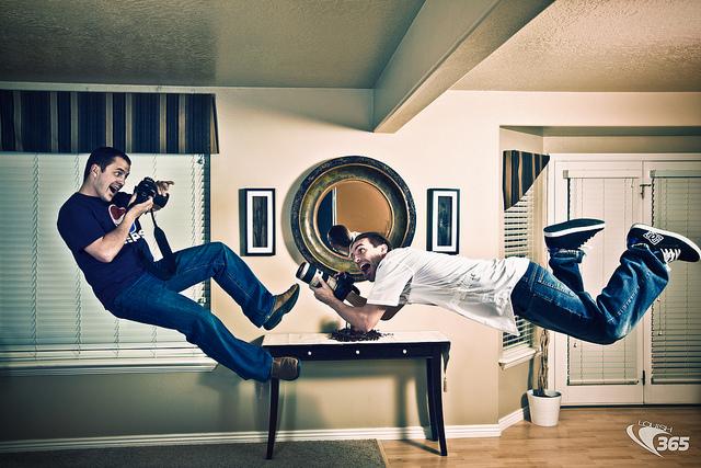 Photographer Levitation