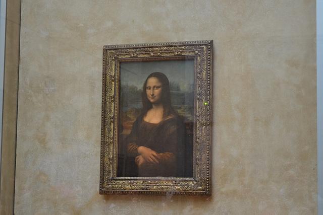 Mona Lisa, da Vinci - Louvre Museum, Paris