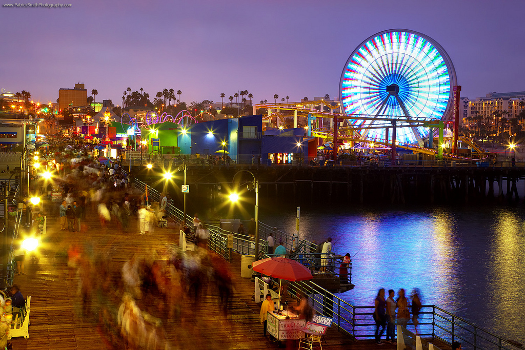 Santa Monica Evening #1 - Santa Monica, California