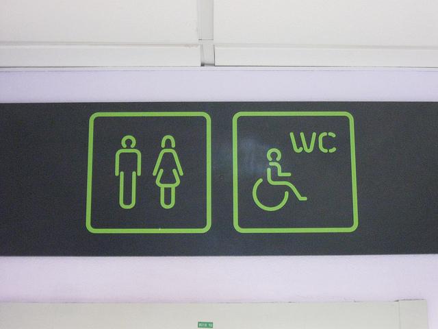 bathroom/toilet/restroom