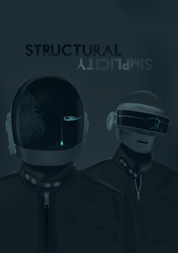 DAFT PUNK | Structual Simplicity by James Oconnell