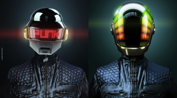 7dd722c707a7926ef425cc12421168881 A Tribute: 40 Awesome Daft Punk Artworks