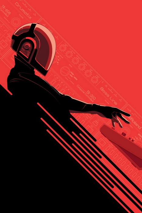8005013 21 A Tribute: 40 Awesome Daft Punk Artworks