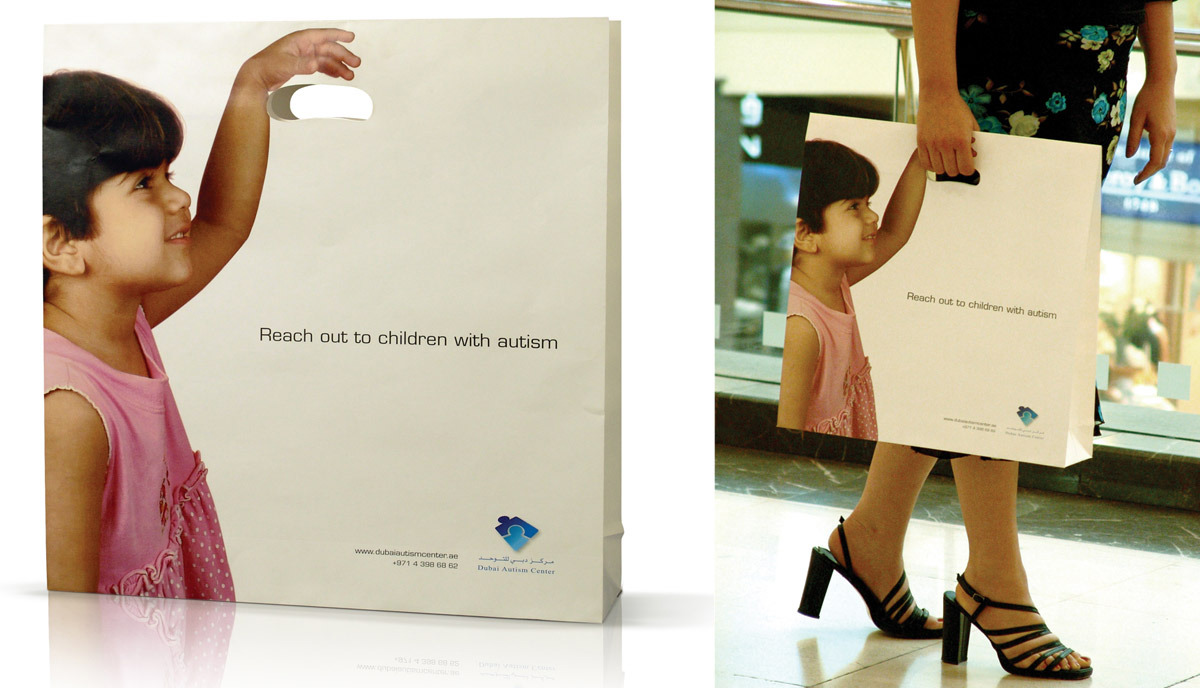 827506948f8d826f71d39481b3f452d71 25 Creative Shopping Bag Advertisements
