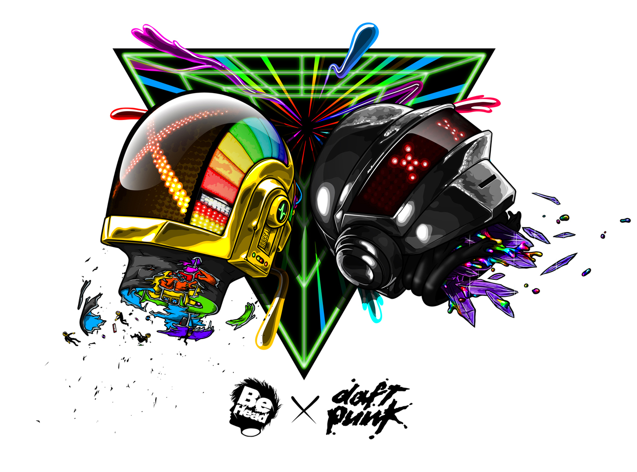 86a53dcb737f65a47f8f0c7b0f90ce261 A Tribute: 40 Awesome Daft Punk Artworks