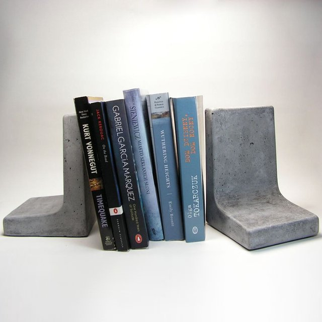 Concrete Bookends
