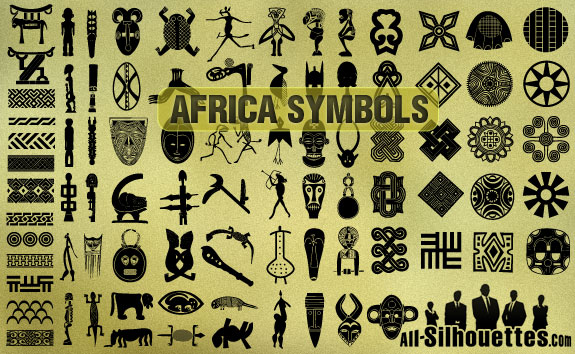 african symbols1 2500+ Free Custom Photoshop Shapes