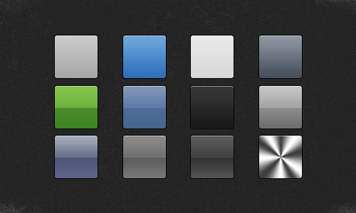 Apple Style Gradients PSD