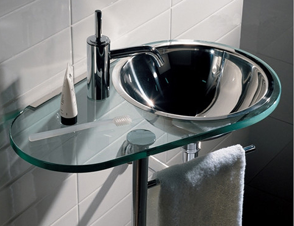 Aqua-Laminated-Transparent-Glass-Counter-Top