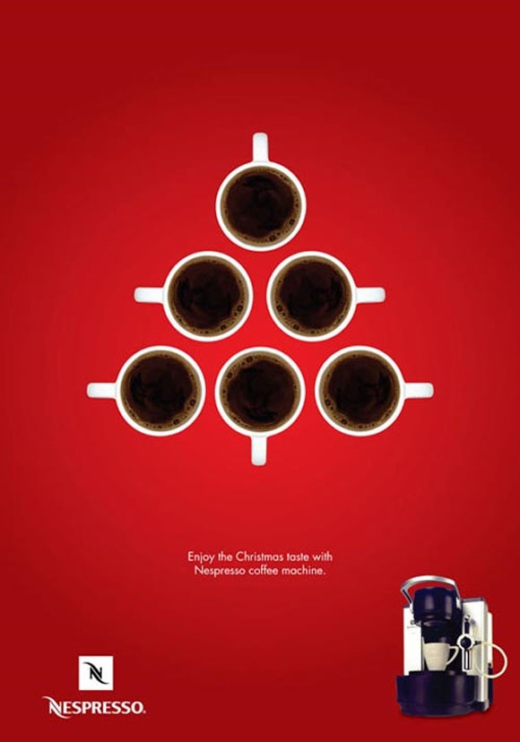 "Nespresso ""Christmas tree"""