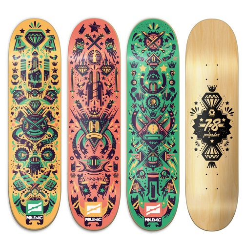 Polemic Skate Decks by New Fren