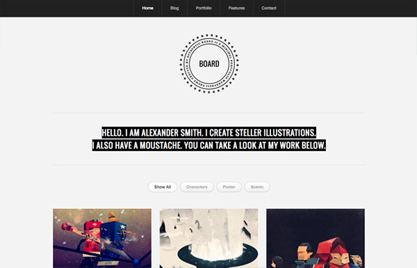 board 20 Minimal Wordpress Themes by Authentic Themes