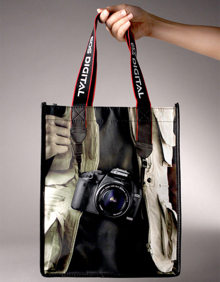 Canon EOS Digital Camera Creative Bagvertising