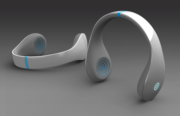 Ripple Headphones by Nate Bullock