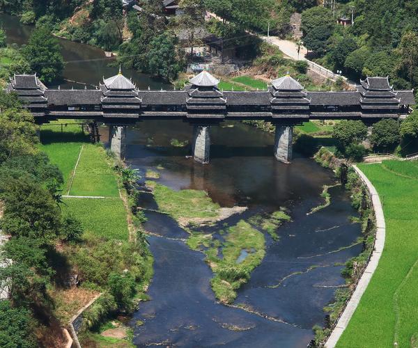 Chengyang-Bridge,-China