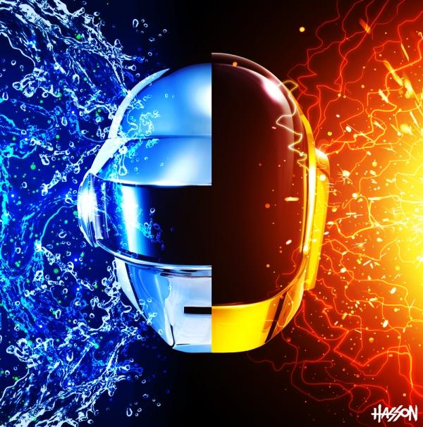 2013 Daft Punk Random Access Memories Album Cover Remix by Jonathan Hasson