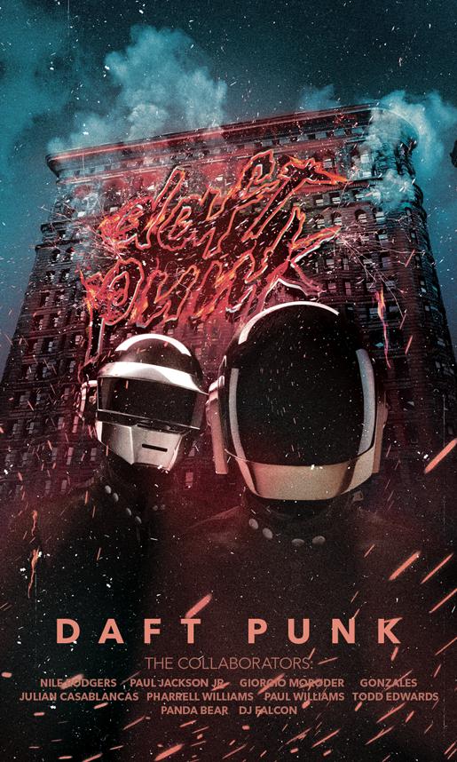 Daft Punk by Kingtooq