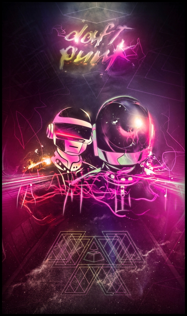 Daft Punk Love by BossLogic