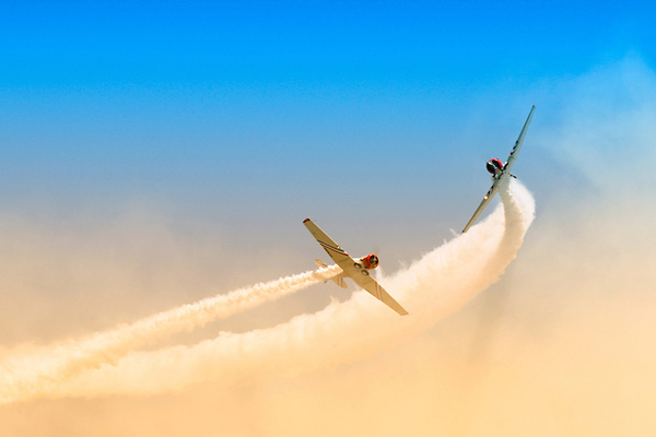 daredevils 50 Beautiful Examples of Aviation Photography