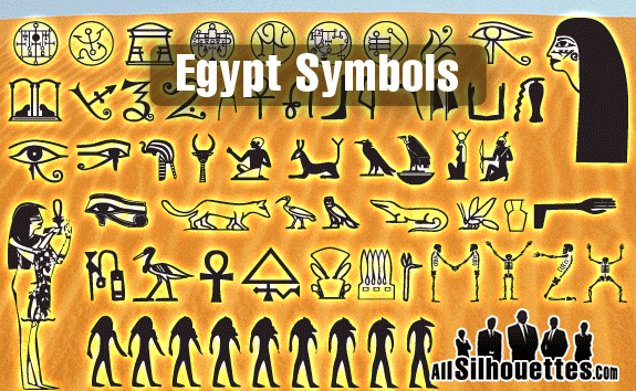 egypt symbols1 2500+ Free Custom Photoshop Shapes