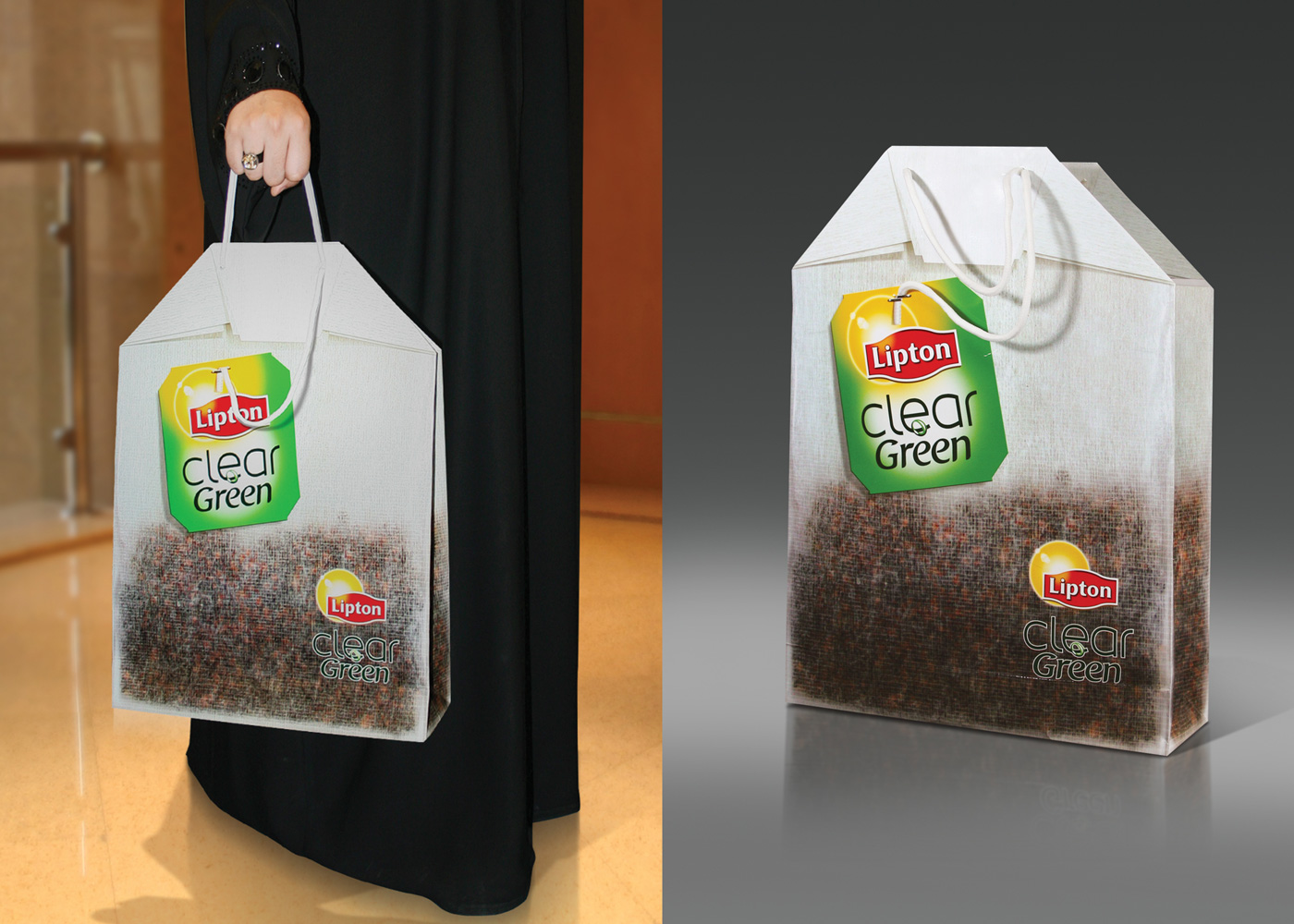 f6559dd30e5f7ce2e5fd2d21c2ad123b1 25 Creative Shopping Bag Advertisements