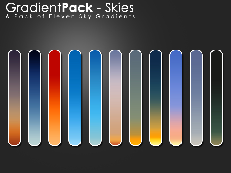 gradientpack   skies by eebvoom d3aut6c1 18 Free Photoshop Gradient Sets