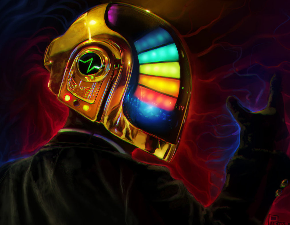 guy manuel by pheoniic d657ott1 A Tribute: 40 Awesome Daft Punk Artworks
