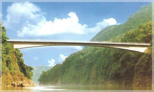Jadukata Bridge, India