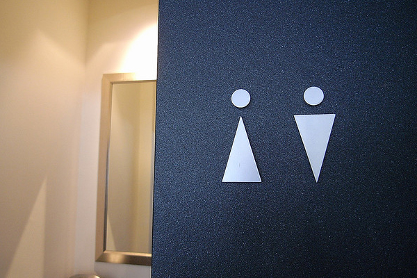 interesting toilet signage Why Signage Designs Need to Comply With ADA Rules for Accessibility